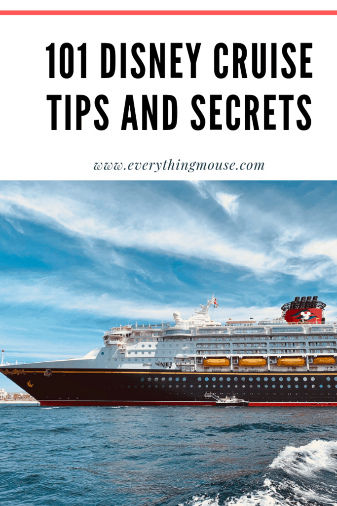 101 Disney Cruise Tips and Secrets (1)