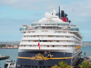 Disney Cruise Ship Stern Characters