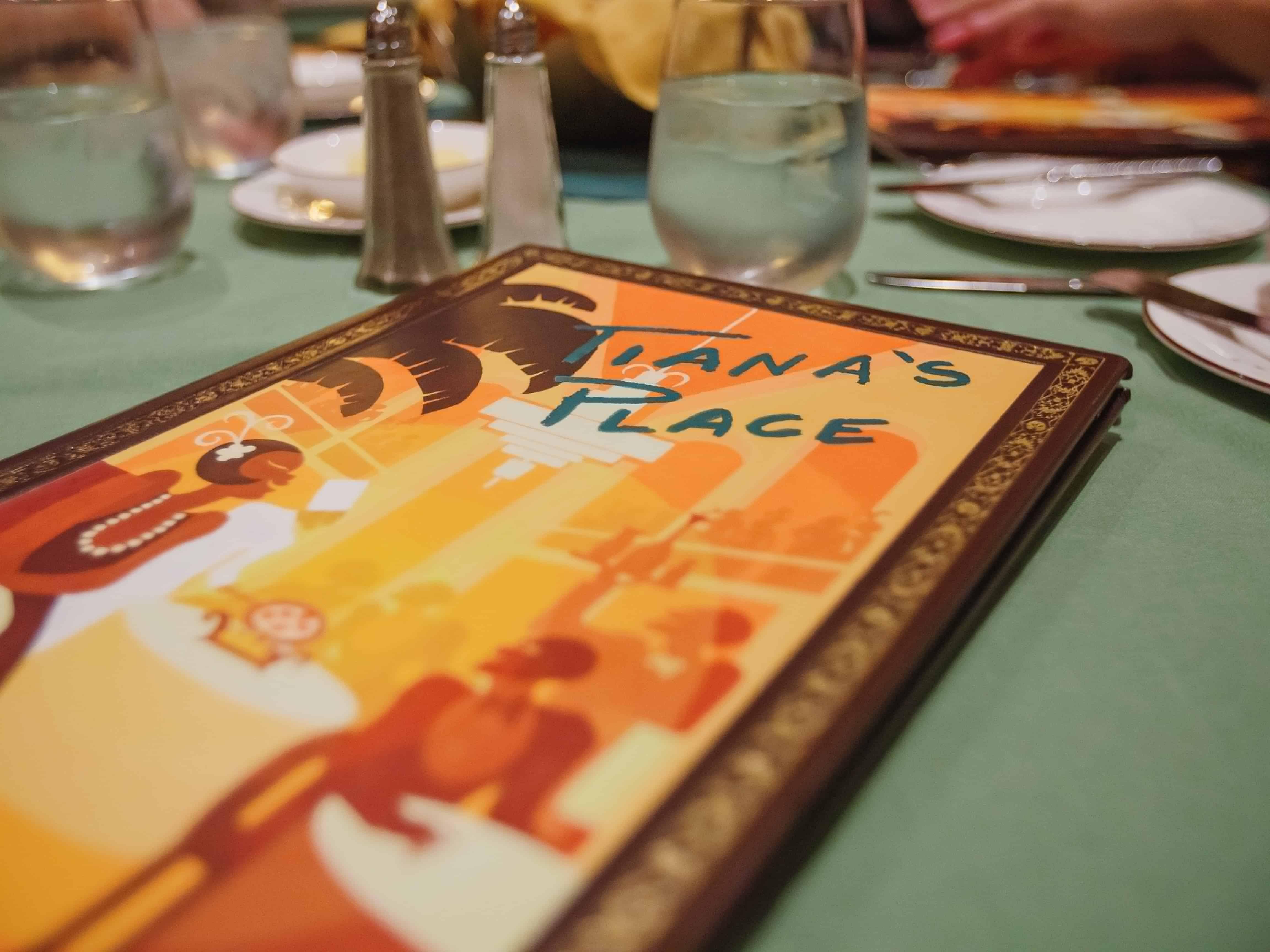 Disney Wonder Tiana S Place Menu Everythingmouse Guide To