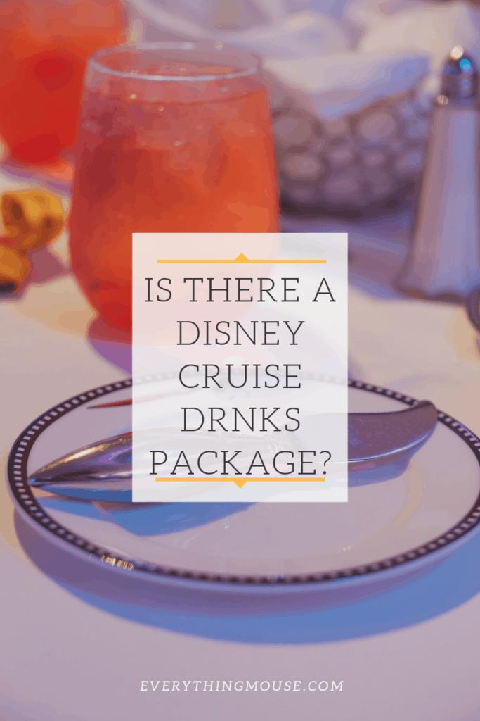 disneycruisedrinkspackage