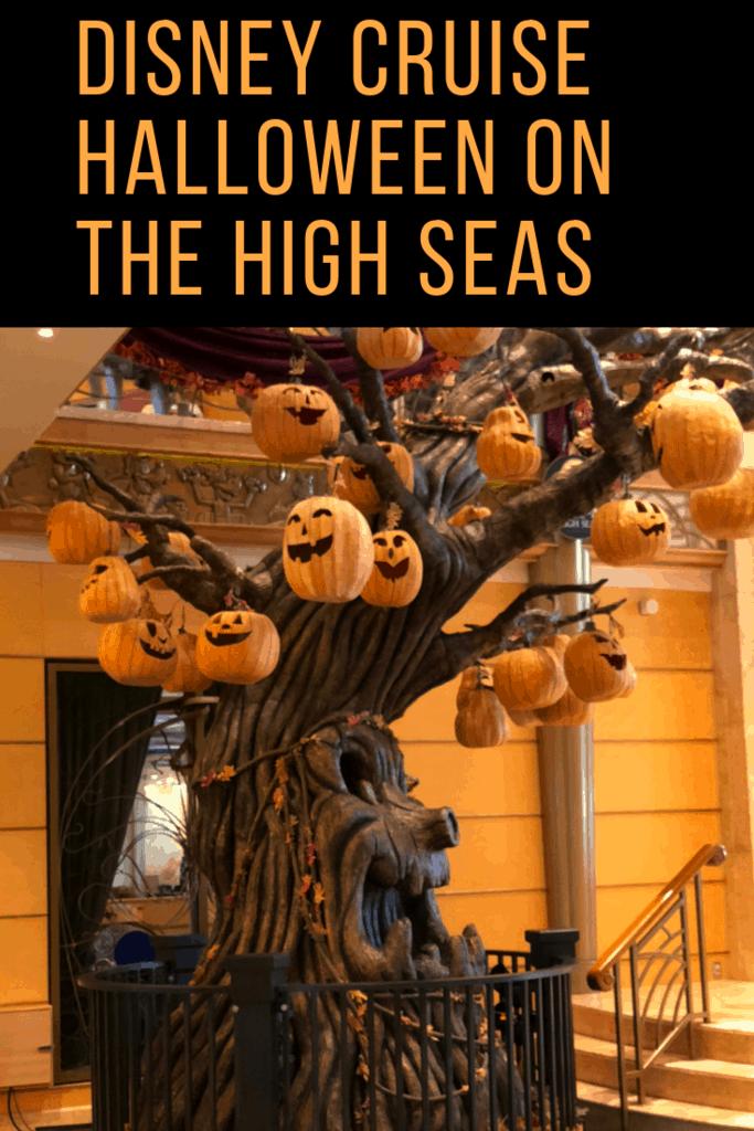 Disney cruise Halloween on the high seas tips