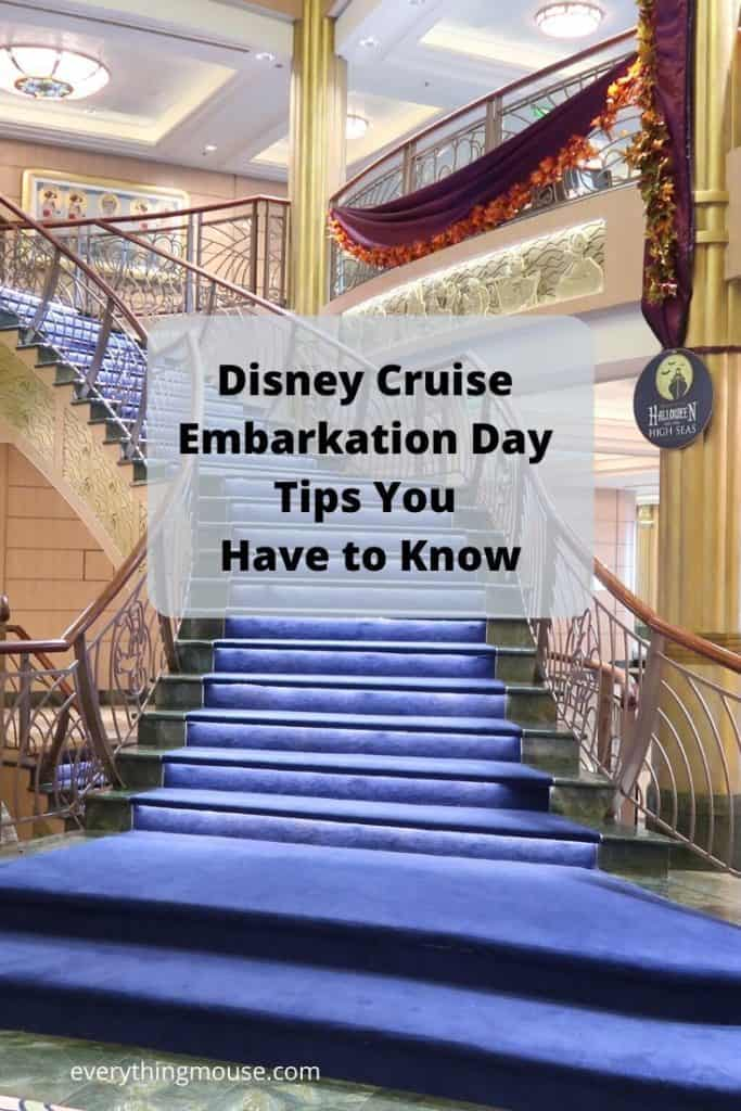 Disney Cruise Embarkation Day Tips You Have to Know