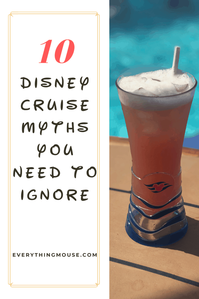 disney cruise myths you need to ignore