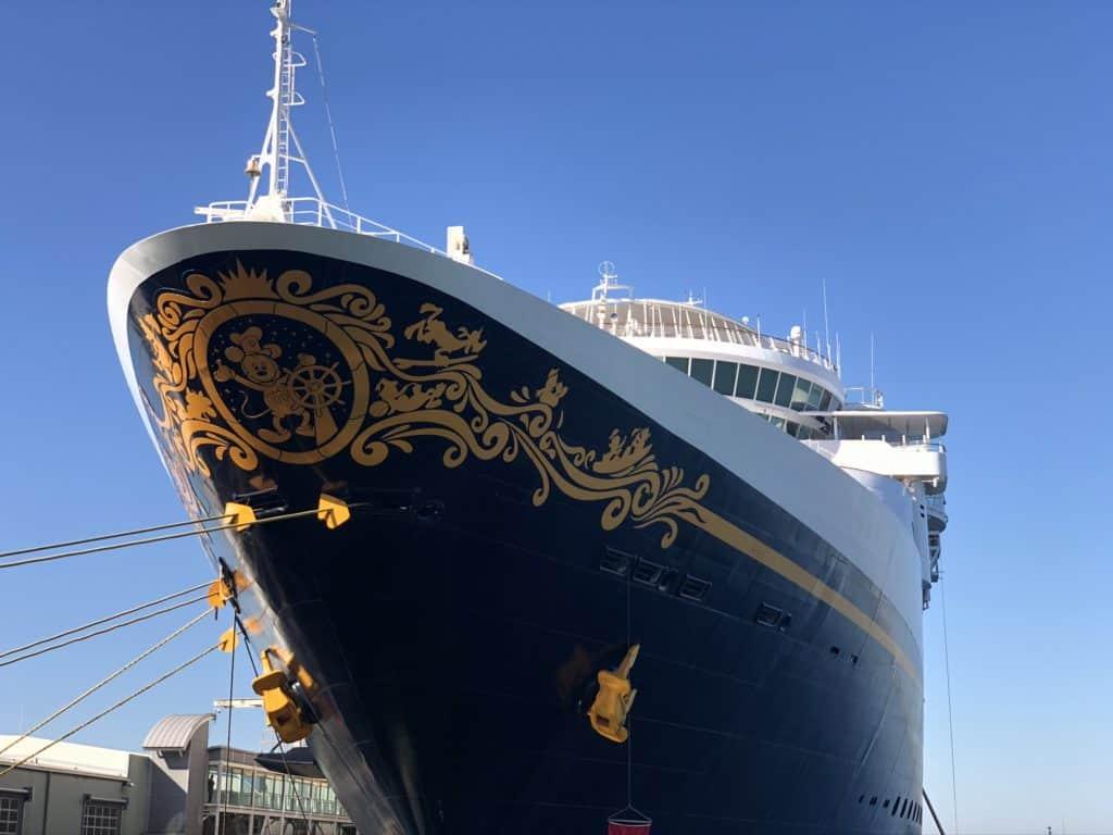 Disney Wonder Port of San Diego