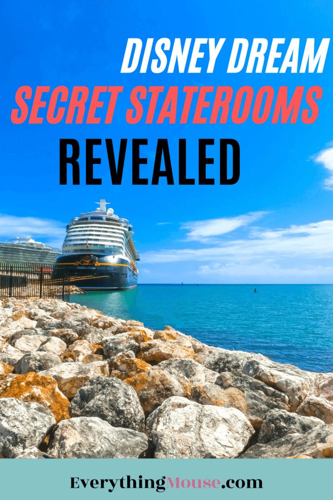 disney dream secret staterooms