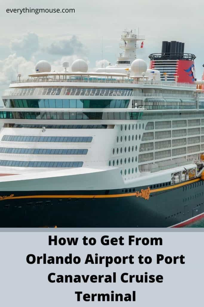 How to Get From Orlando Airport to Port Canaveral Cruise Terminal