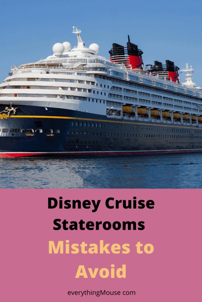 disney cruise cabins