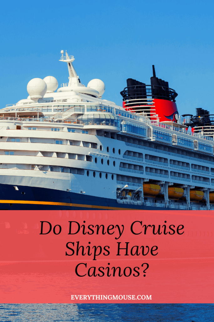 Do Disney Cruises Have Casinos?