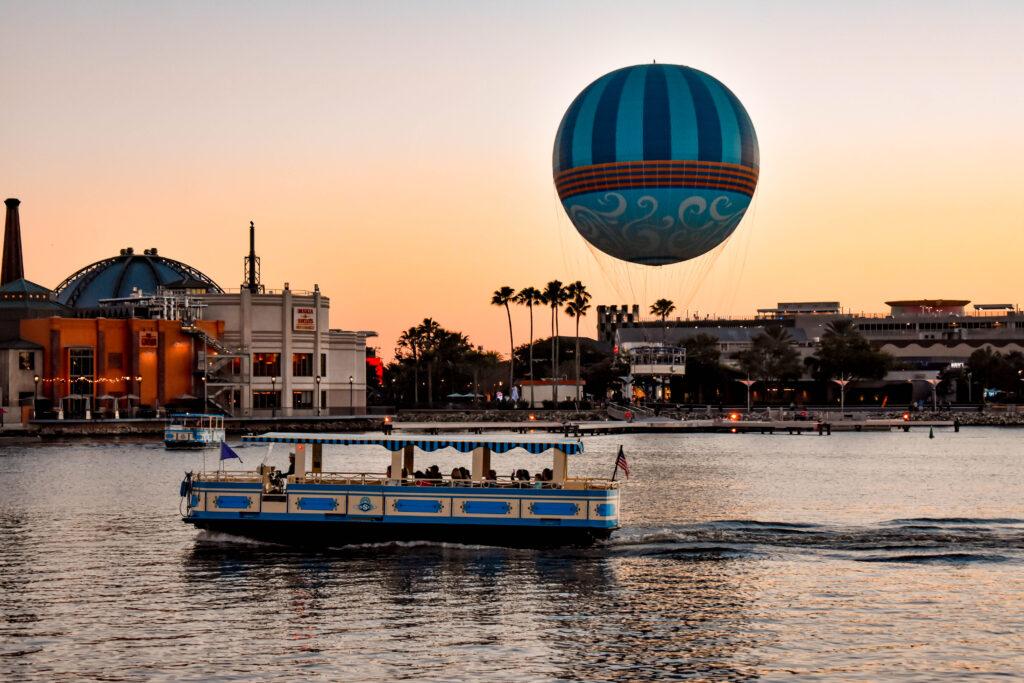 Disney Springs Boat Transportation