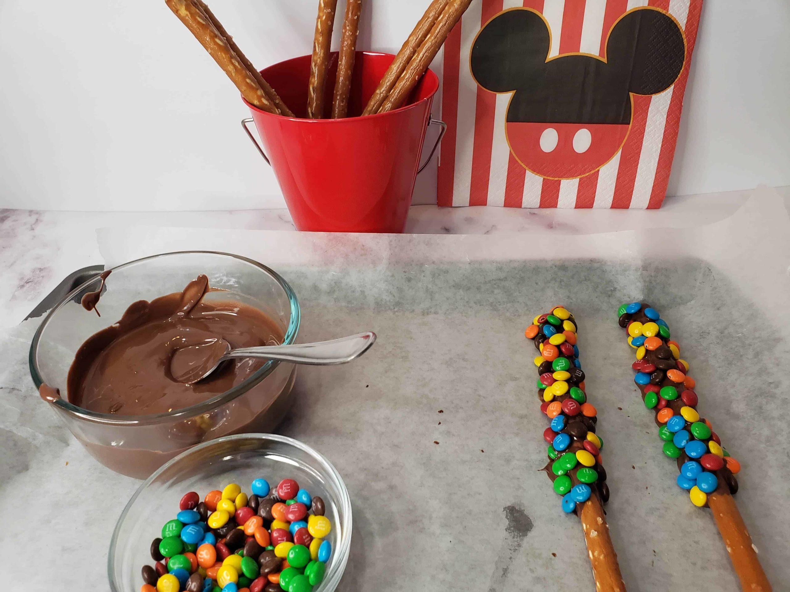 Chocolate Covered Pretzel Rods Recipe