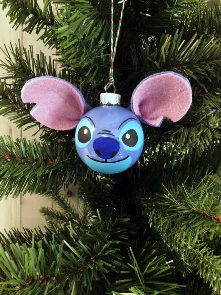 DIY Disney Christmas Ornament