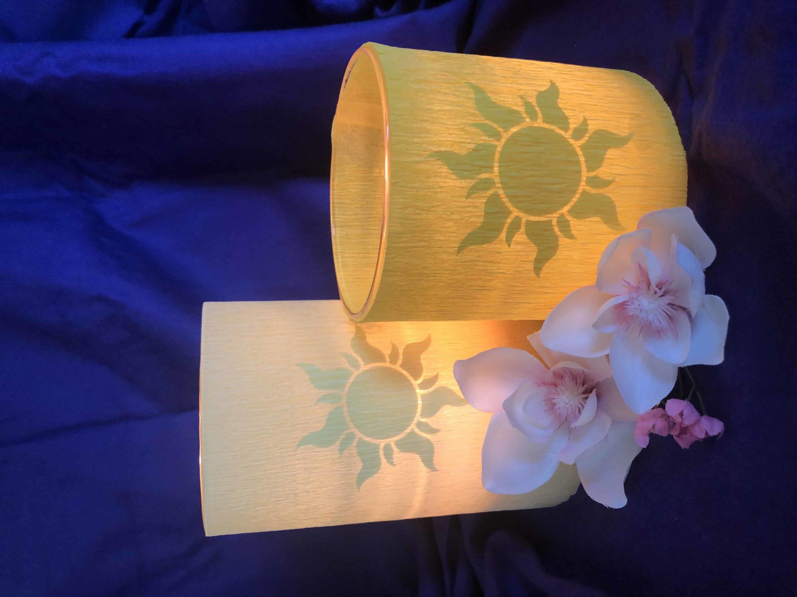 DIY Rapunzel Tangled Lantern