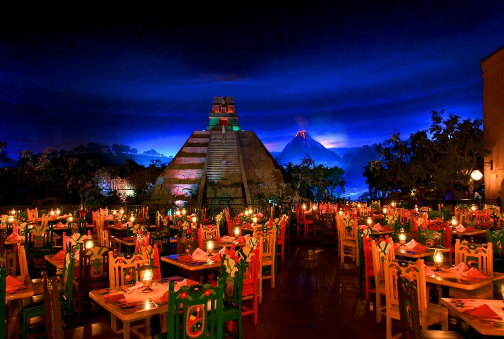 the best epcot restaurant for families