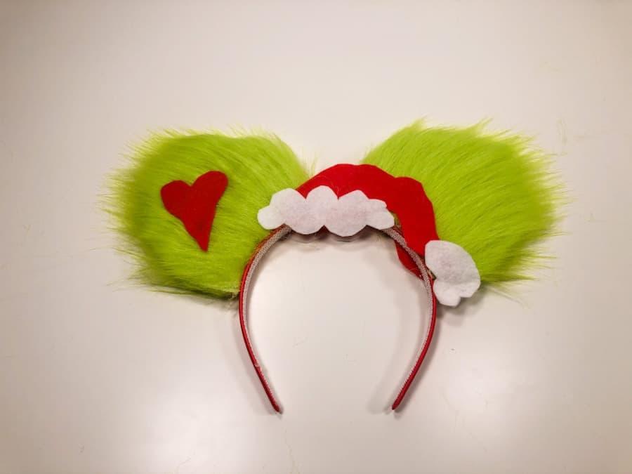 Homemade Disney Christmas Ears
