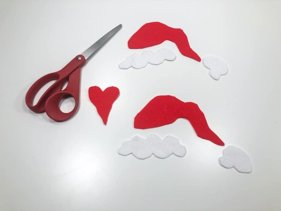 Christmas Mickey Ears DIY
