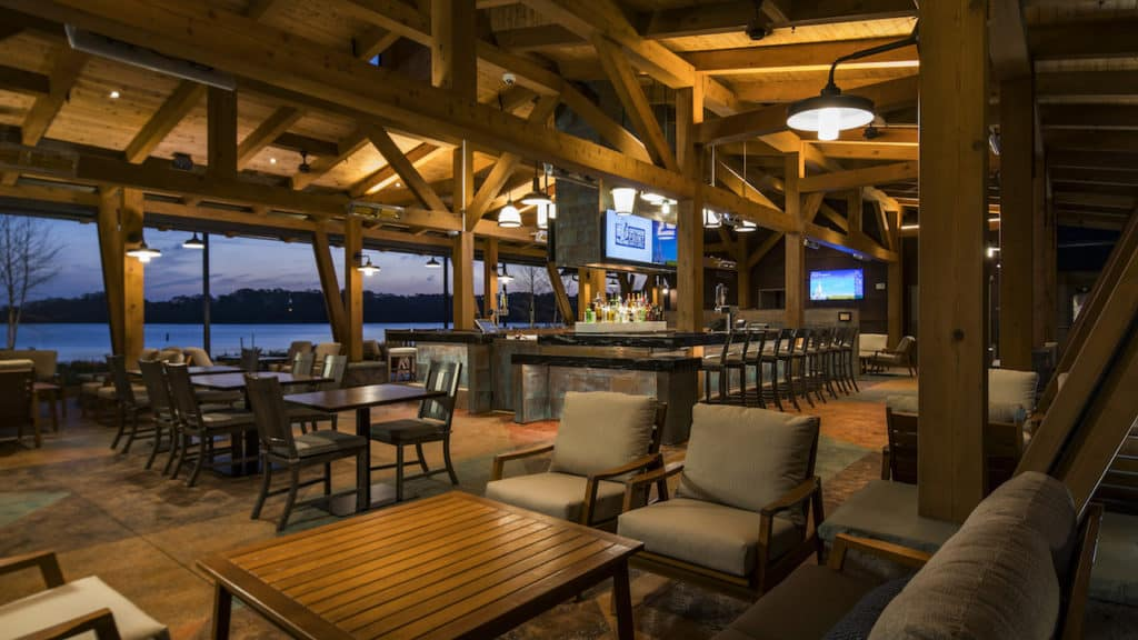 wilderness lodge bar