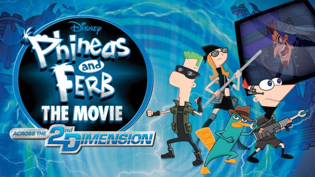Phineas And Ferb The Movie - Across The 2nd Dimension