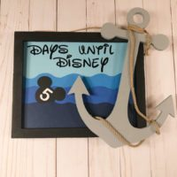 Disney Countdown Calendar