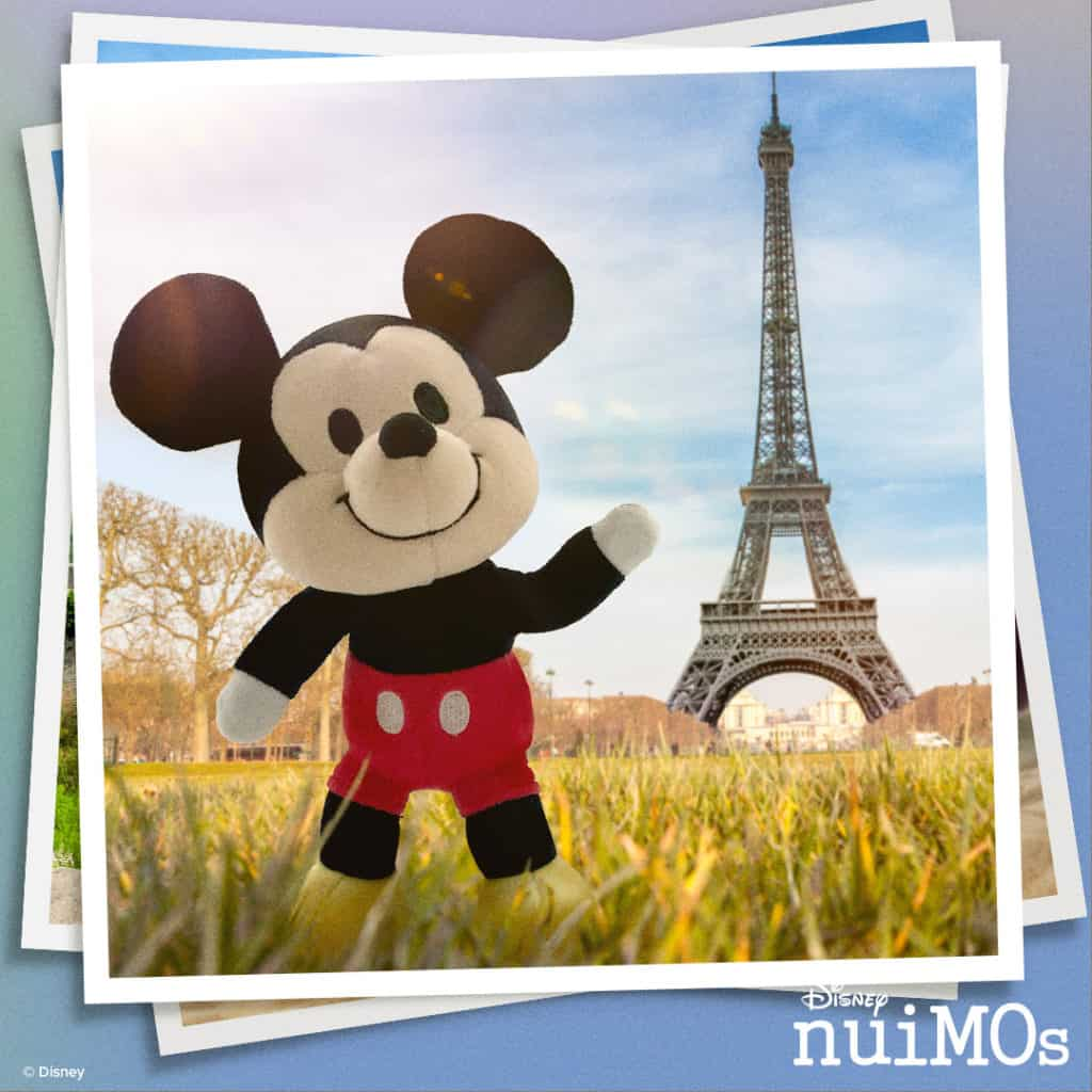 Mickey Mouse nuimos