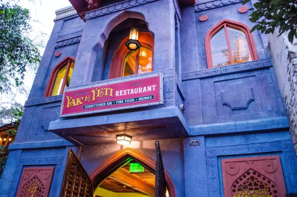 disney yak and yeti restaurant