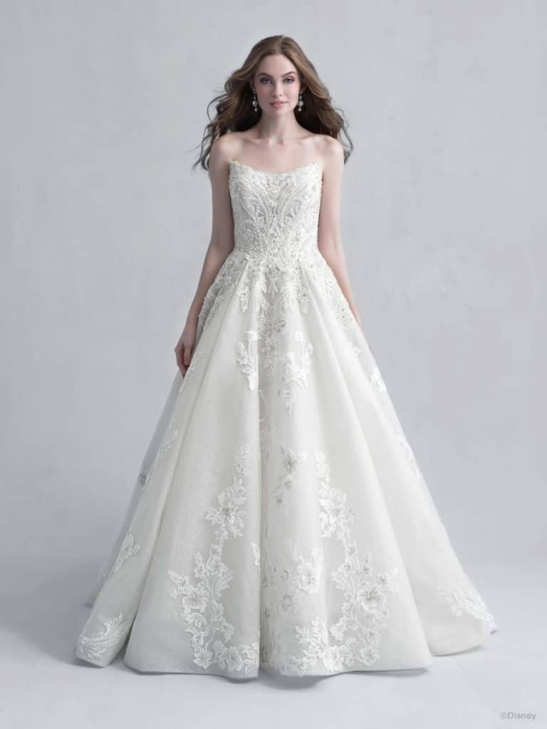 disney princess aurora wedding dress