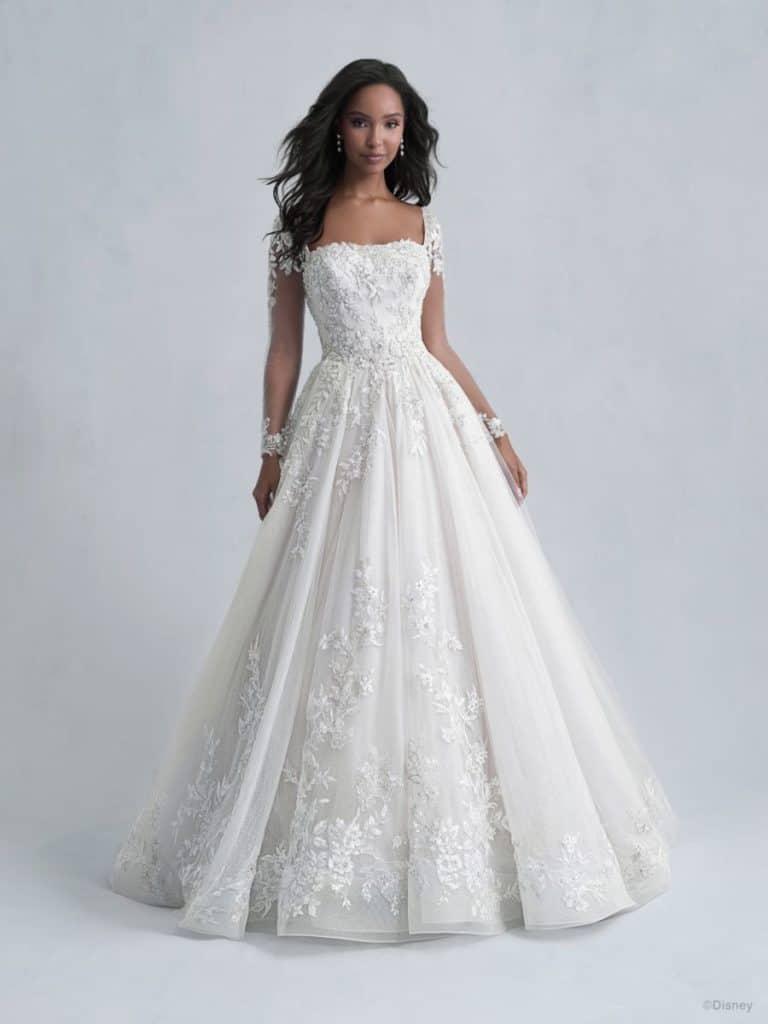 disney belle wedding dress