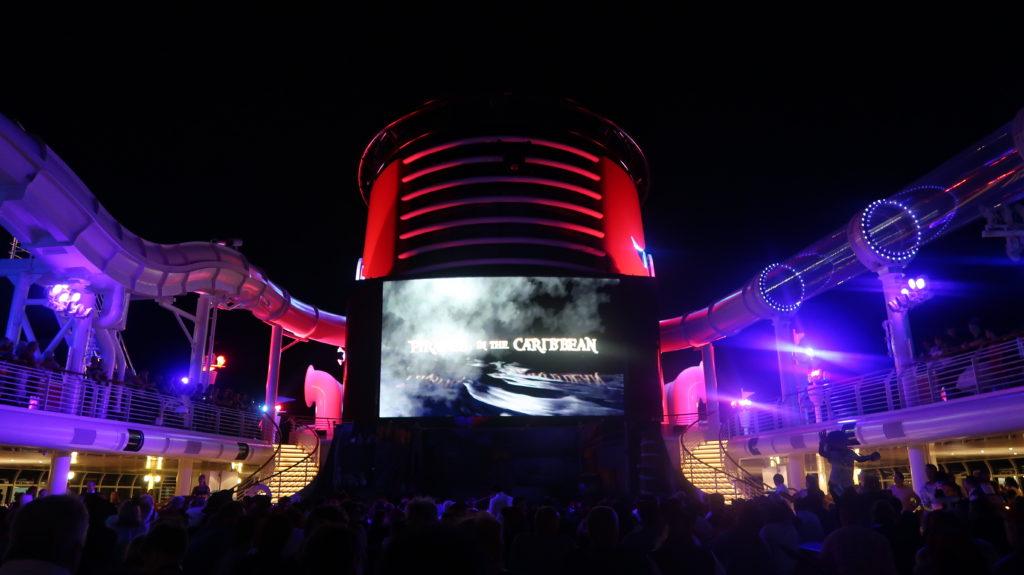 Disney Cruise Pirate Night Show