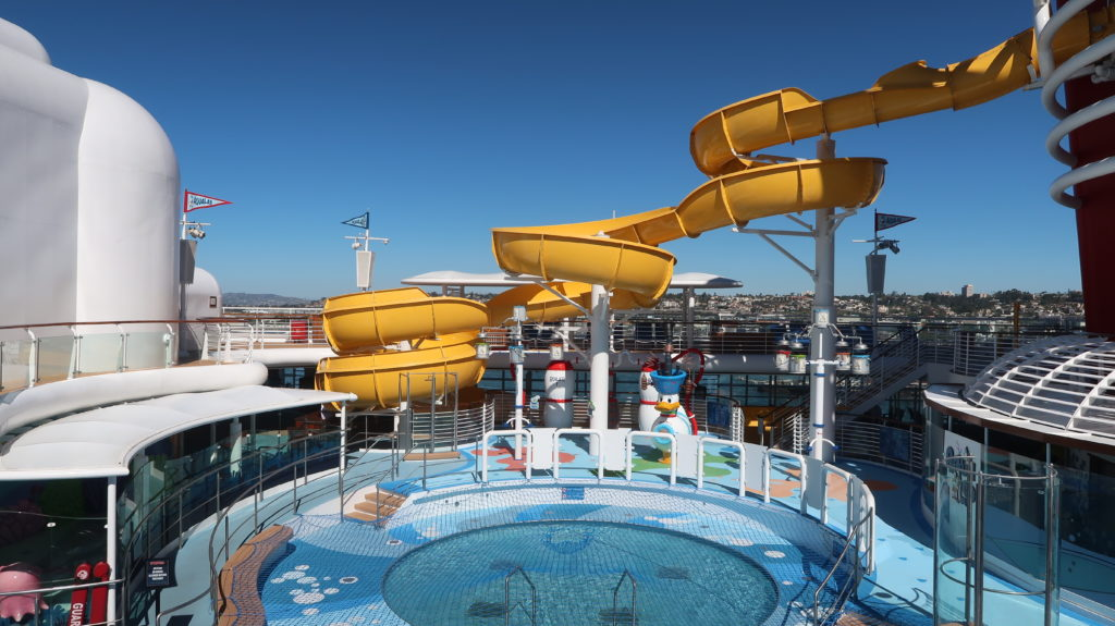Disney Wonder Cruise Ship Water Slide