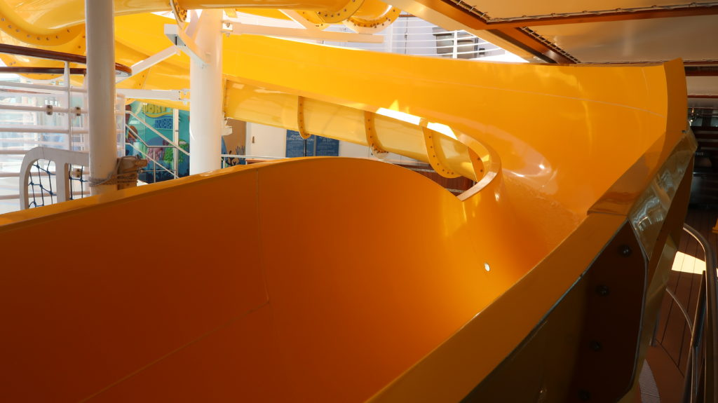 Disney Cruise Ship Slide