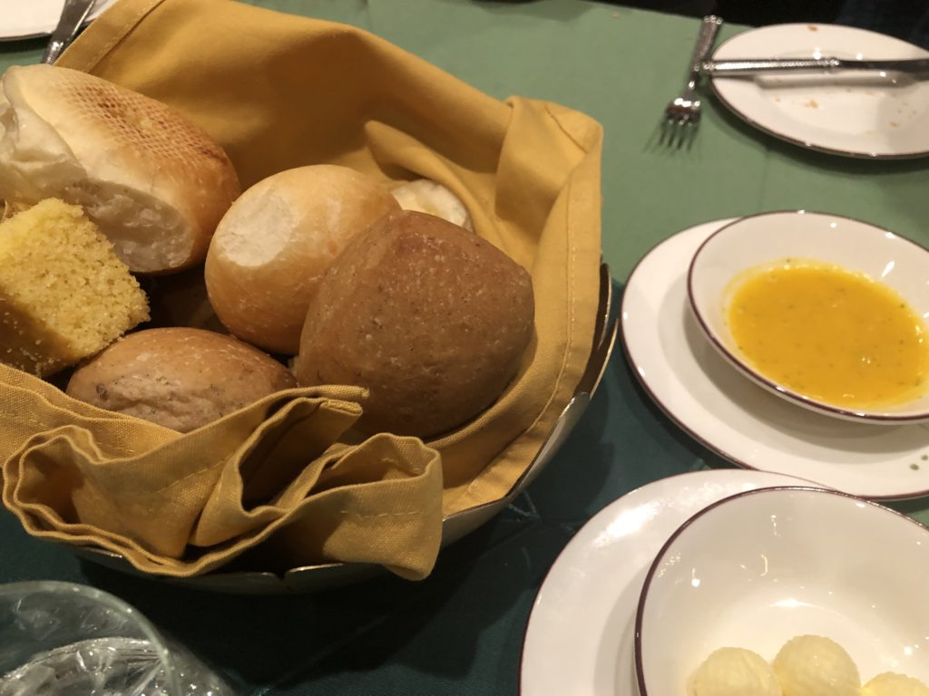 Disney Pirate night bread service