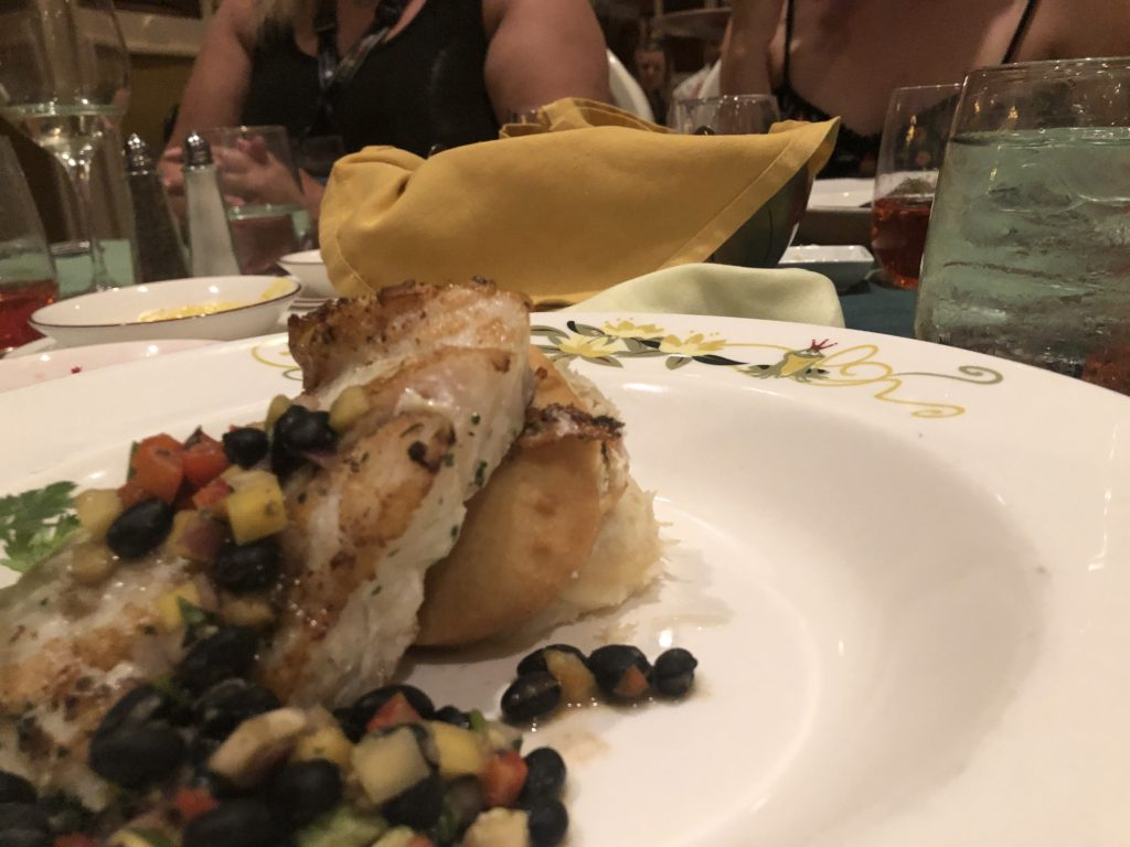 pirates in the caribbean dinner