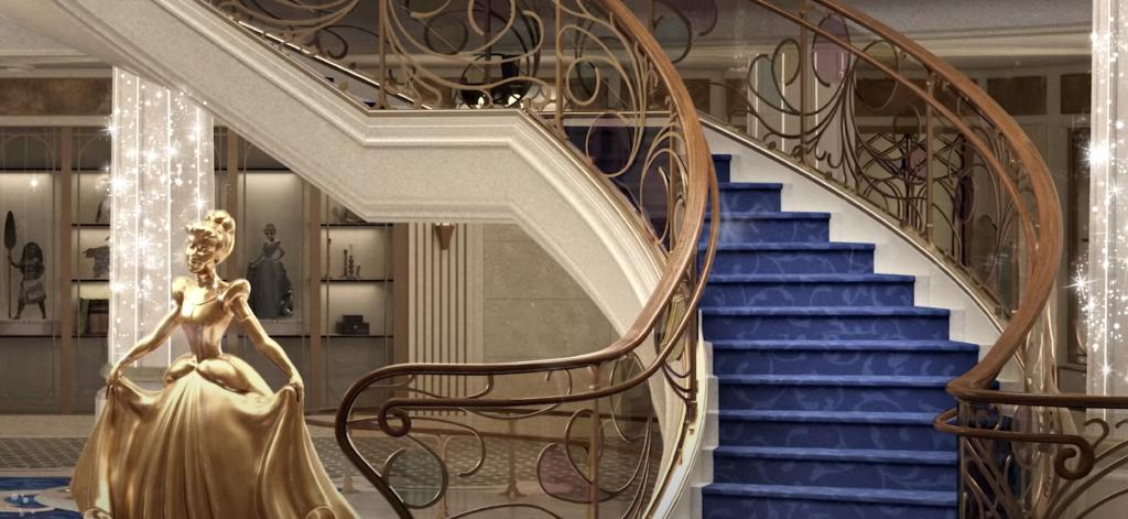 Disney Wish Staircase