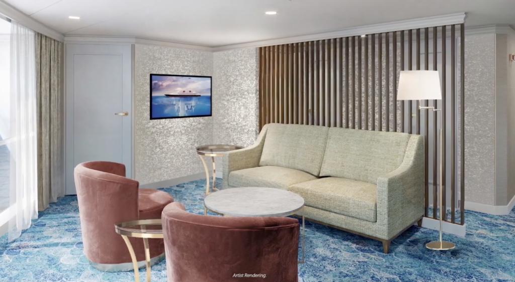 Disney concierge stateroom