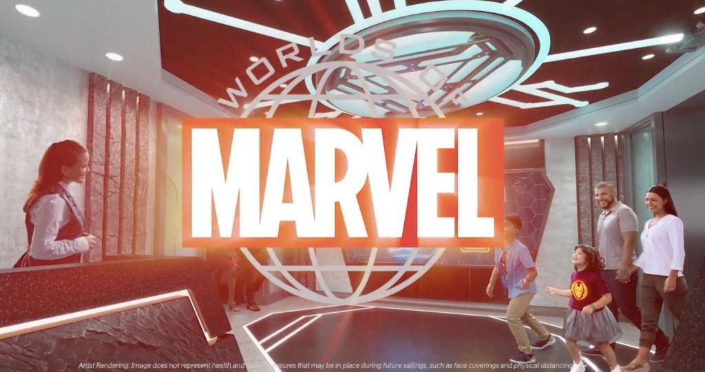 Disney Wish Marvel Restaurant
