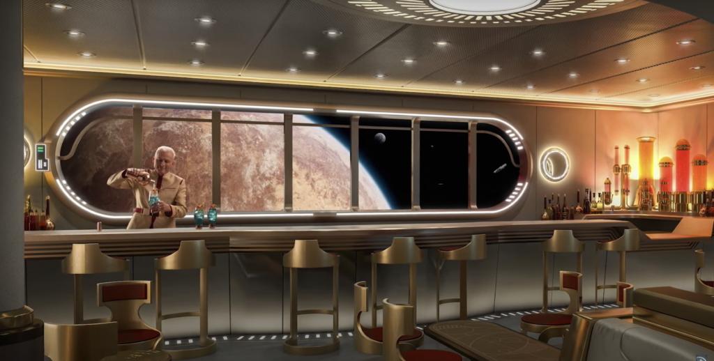 Disney Wish Star Wars Bar