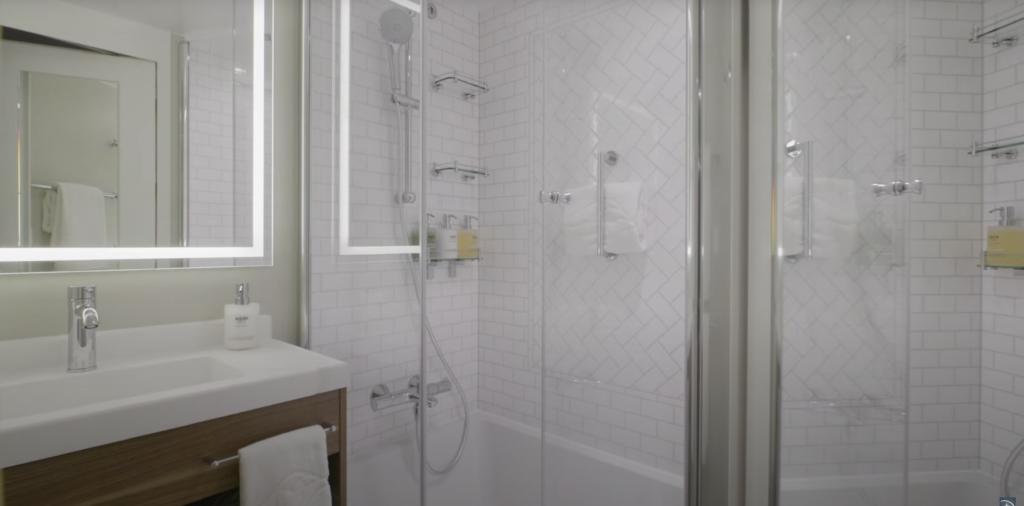 Disney Wish Bathroom Bath and Shower