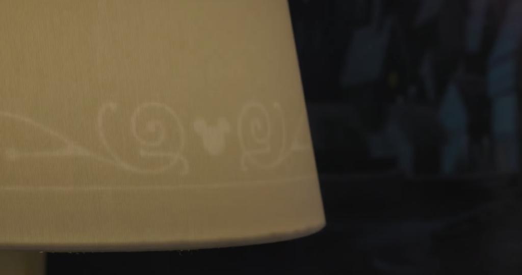 Disney Wish Lamp Detail