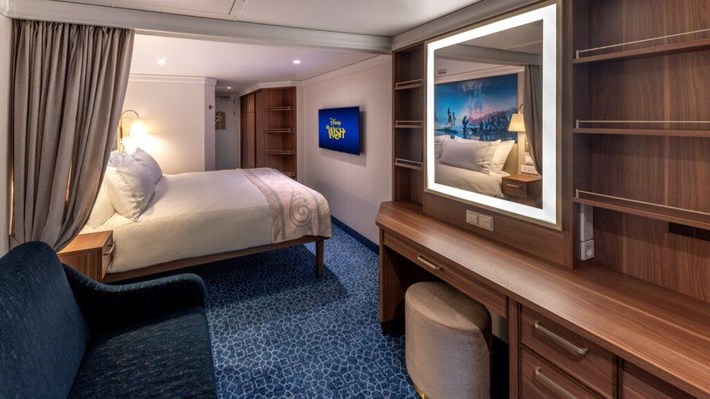 disney wish deluxe oceanview stateroom with verandah