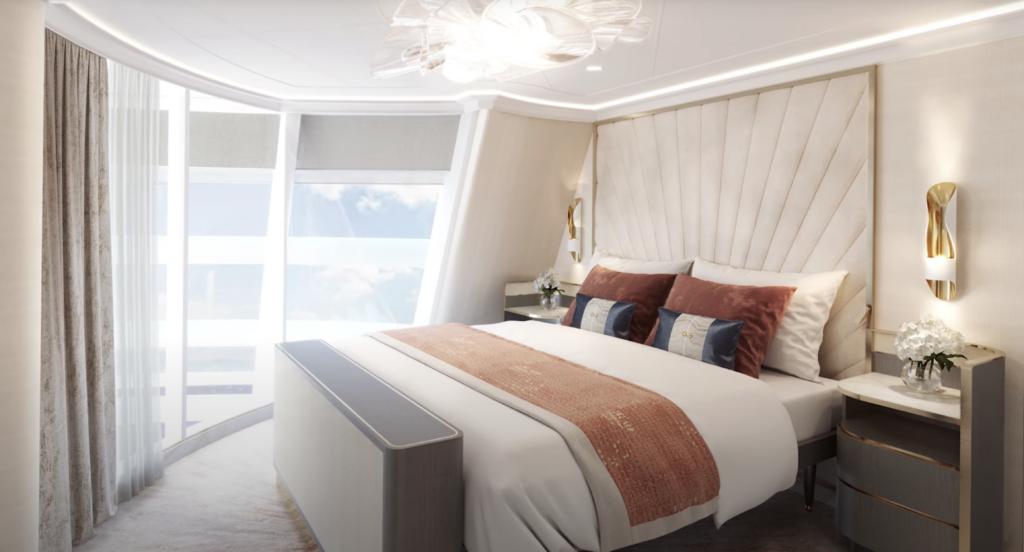 Disney Wish Funnel Suite Bedroom