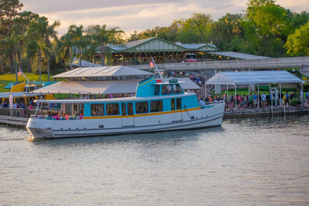 Disney Magic Kingdom Boat