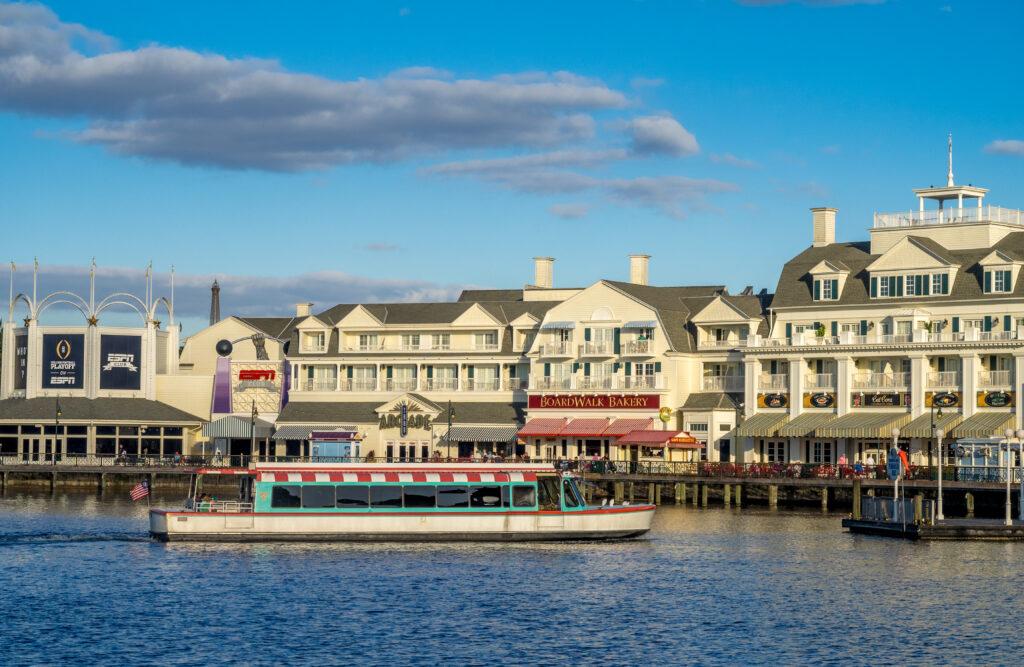 Disney World Epcot Boat
