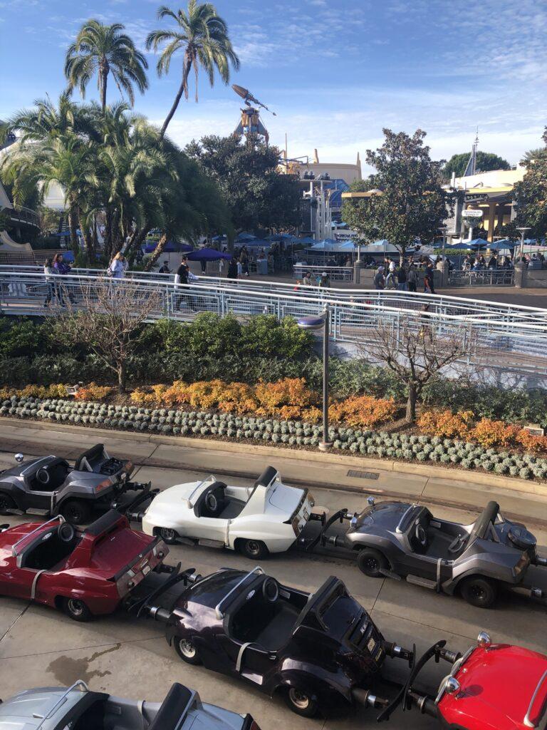 Disneyland Autopia Ride