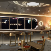 Disney Wish Star Wars Hyperspace Lounge