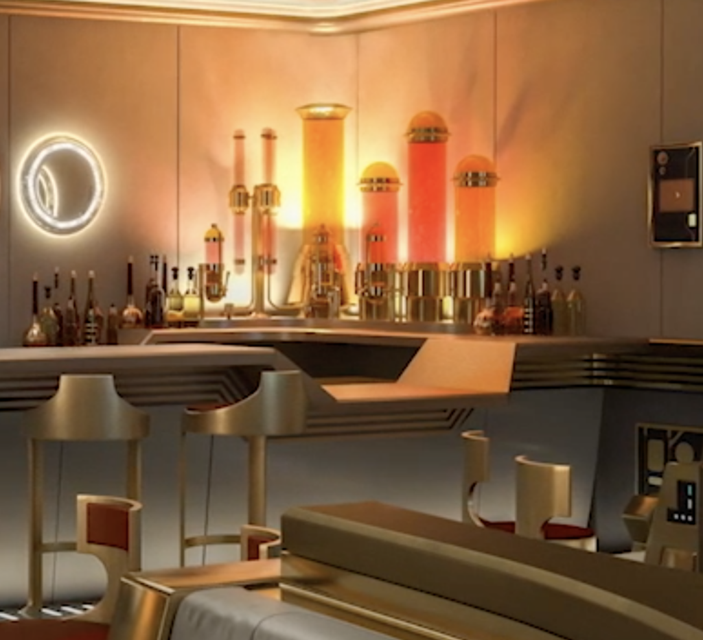 Disney Wish Star Wars Bar Drinks