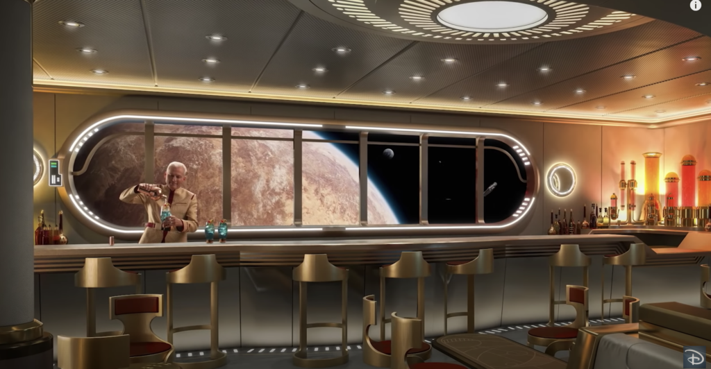 Disney Wish Hyperspace Lounge