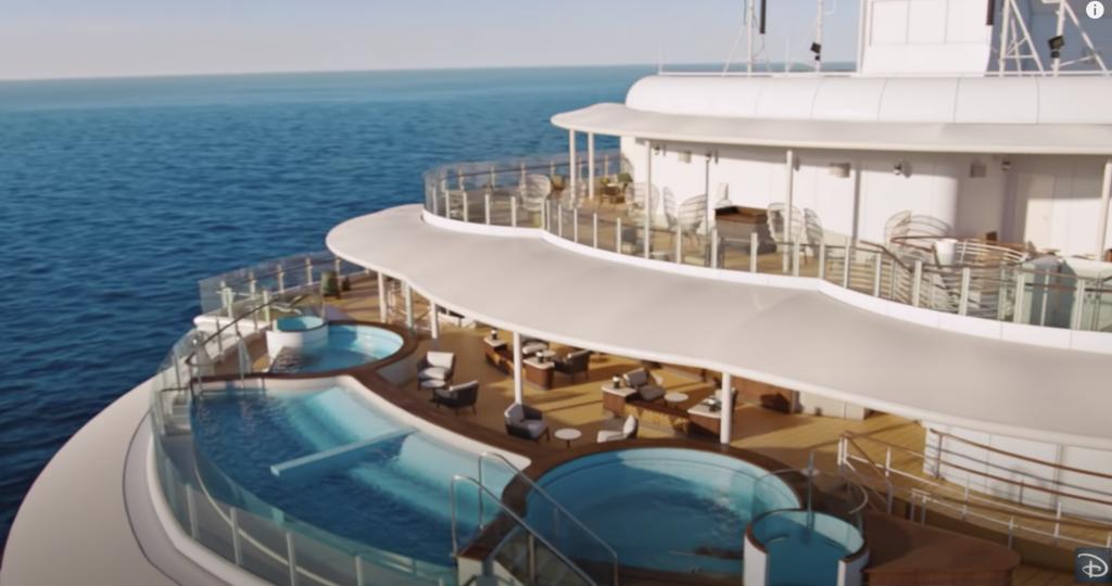 Disney Wish Quiet Cove Pool