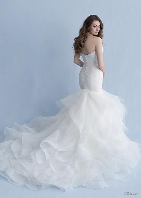 Disney Princess Ariel Wedding Gown