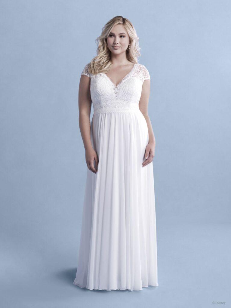 disney rapunzel wedding dress