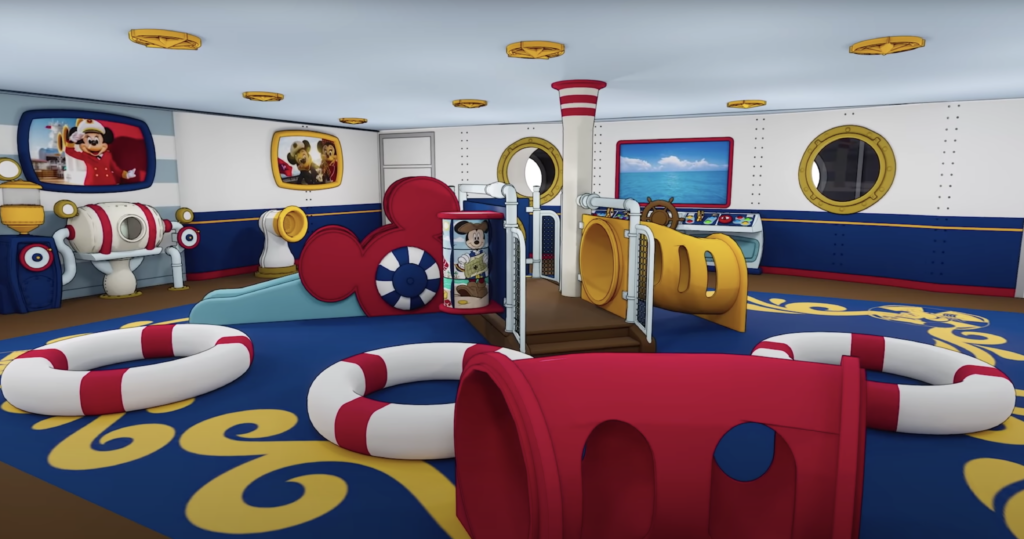 Mickey and Minnie Captain's Deck